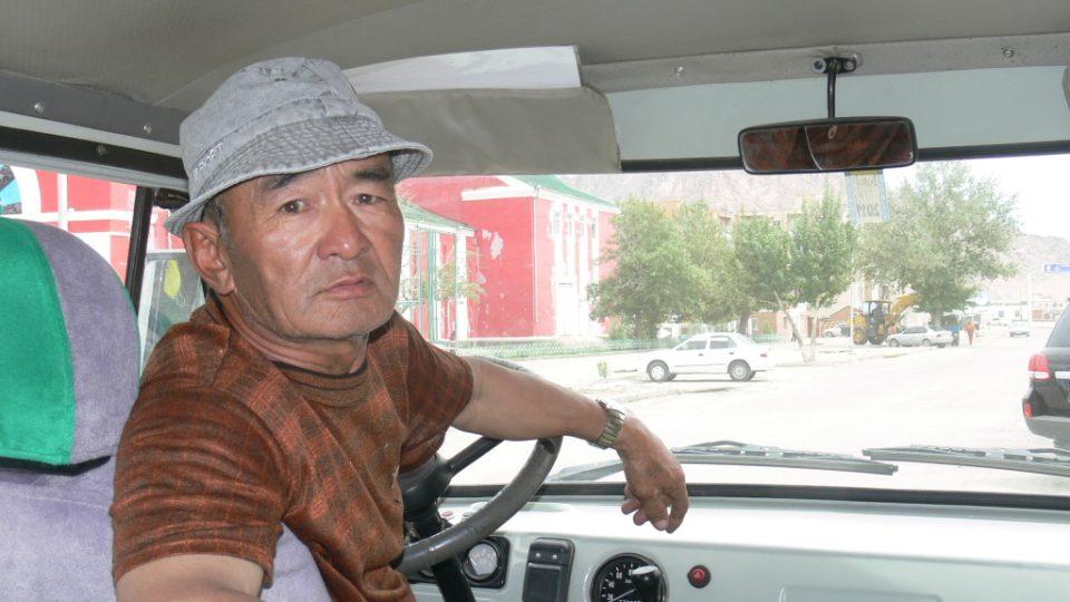 Nejlepší mongolský řidič Batsu