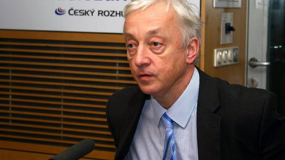 Jan Sváček byl hostem Dvaceti minut Radiožurnálu