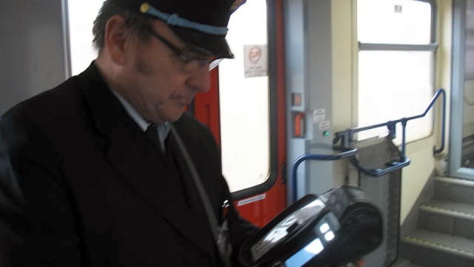 Vlakvedoucí František Slavík