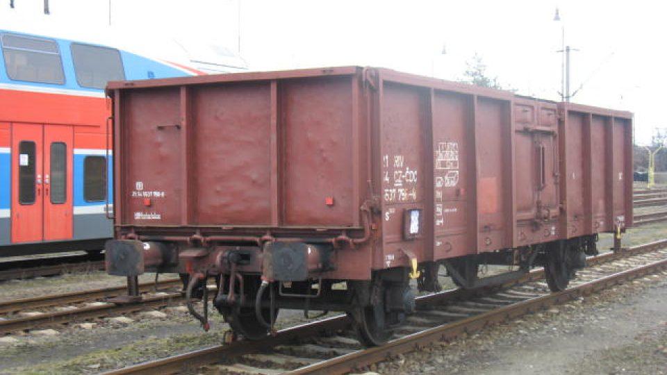 Železniční nákladní vagon