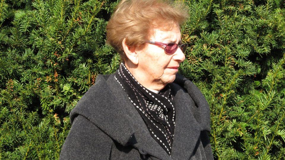 Předsedkyně Terezínské iniciativy a kutnohorská rodačka Dagmar Lieblová