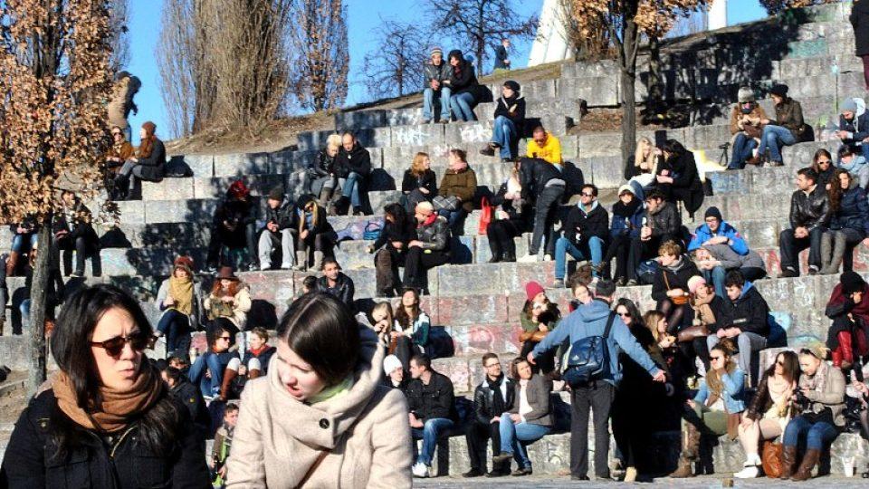 Do parku o víkendu zamíří řada Berlíňanů