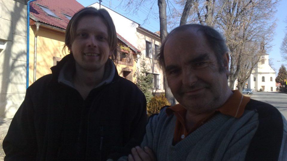Mikina s překvapením - Tomáš Kedzior s výherci
