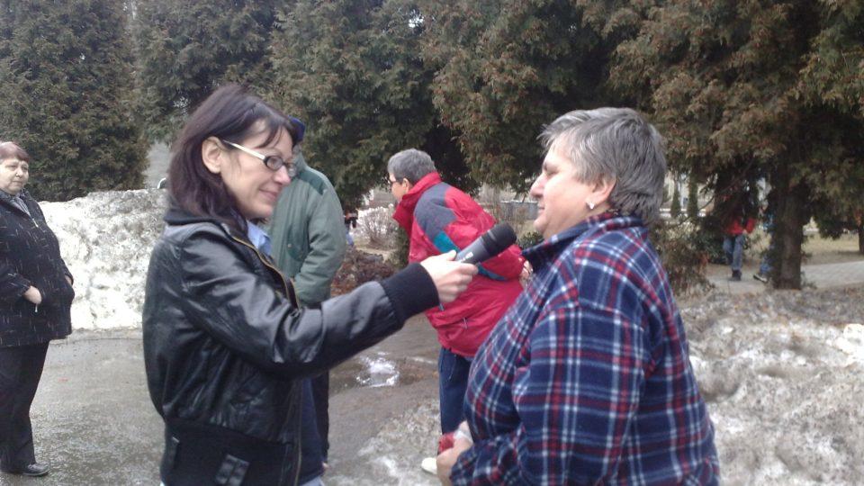 Mikina s překvapením - Šárka Chovancová v Hanušovicích a okolí