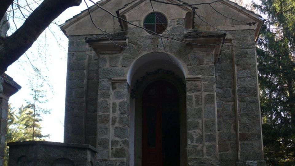 Kaple Panny Marie na poutním místě Maria Rast.