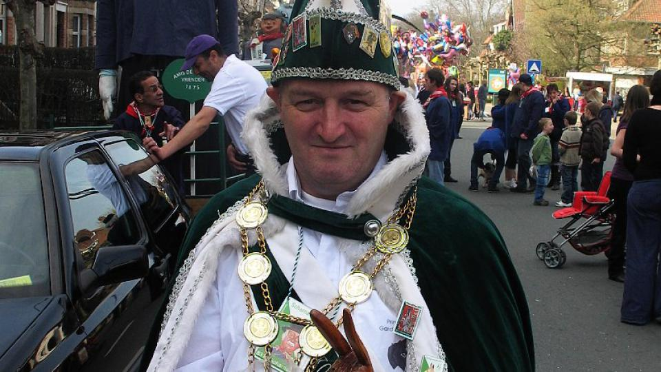 Karnevalový princ pan Eric