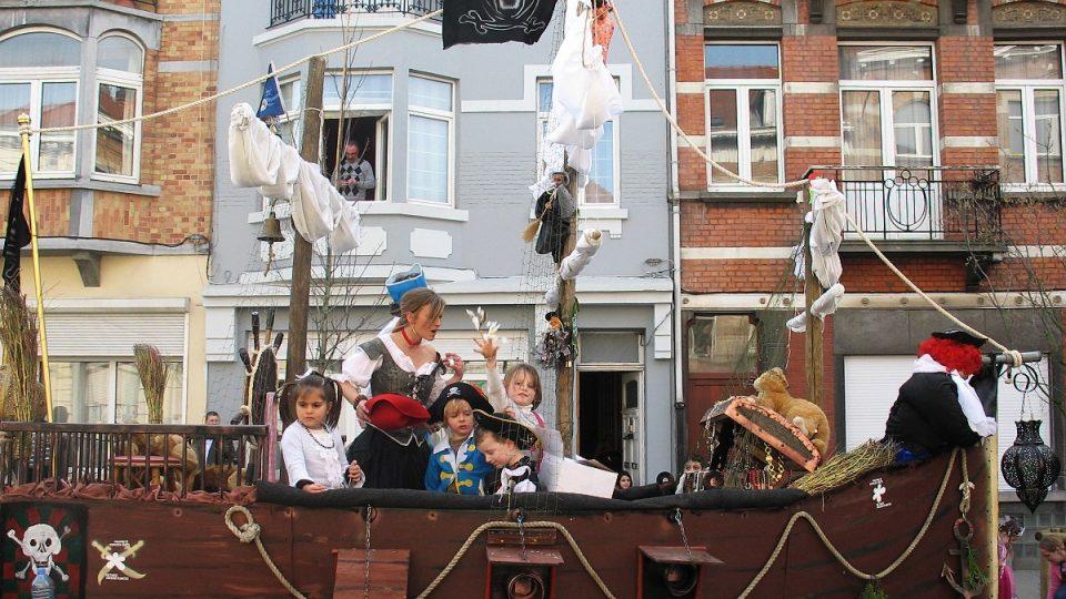 Složení posádky pirátské lodi je dokladem rozmanitosti místních obyvatel