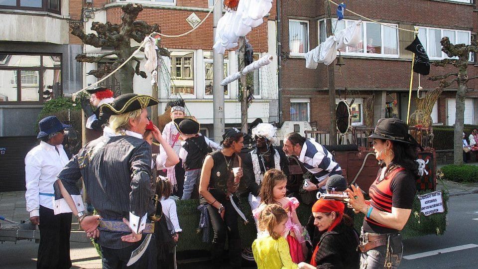 Pirátská loď je řízena těmi, kdo se v Schaerbeeku starají o pořádek na ulicích a v parcích