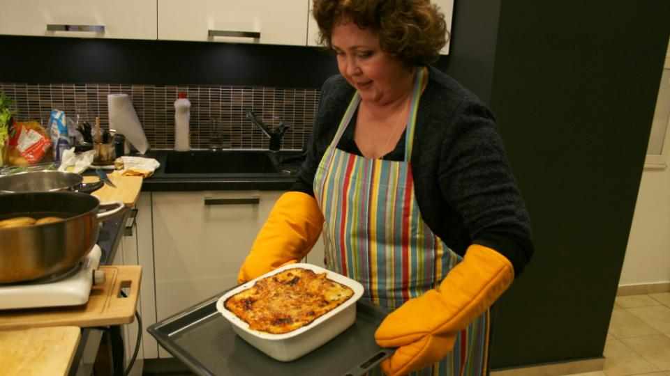 Naďa Konvalinková a lasagne