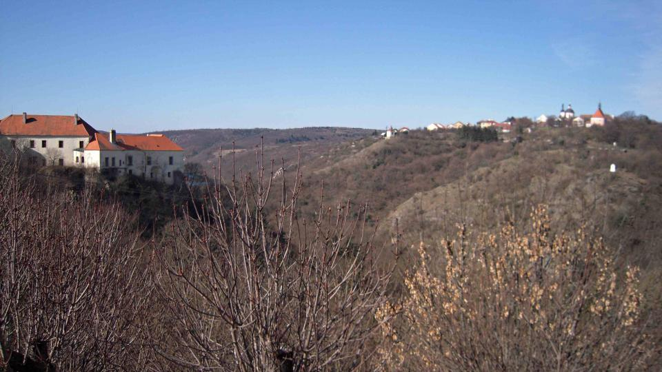 Okolí Znojma u starého slovanského sídliště, dnešního Hradiště