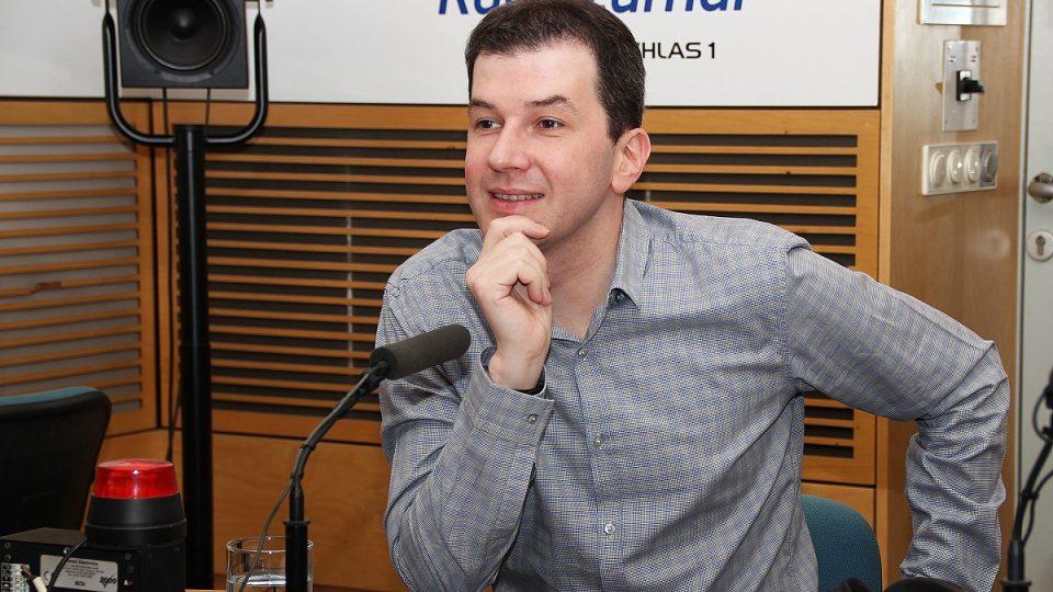 Jakub Železný hostem Radiožurnálu