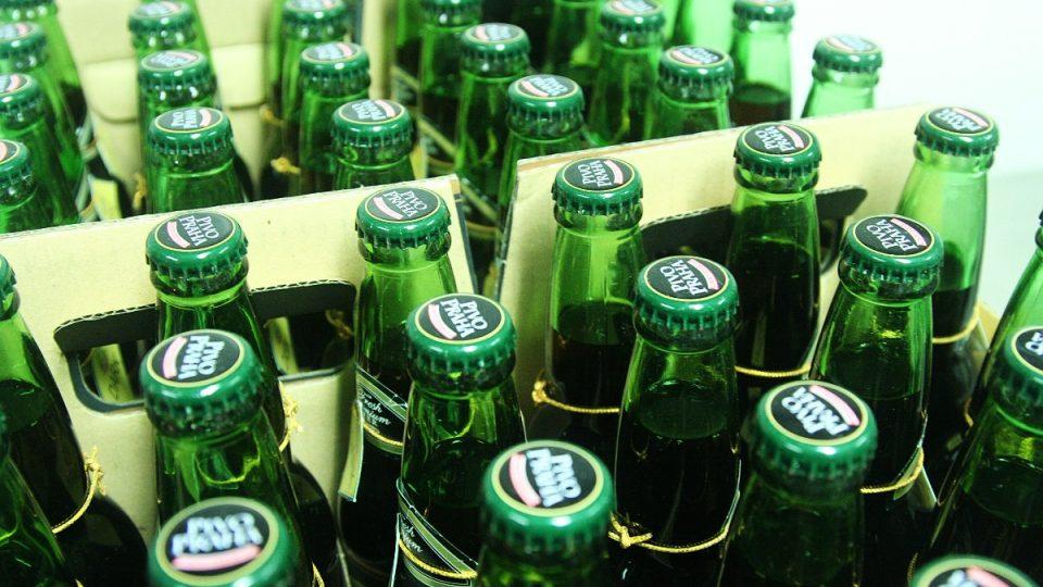 Zdejší pivo chutná velice česky: je hořké a má říz