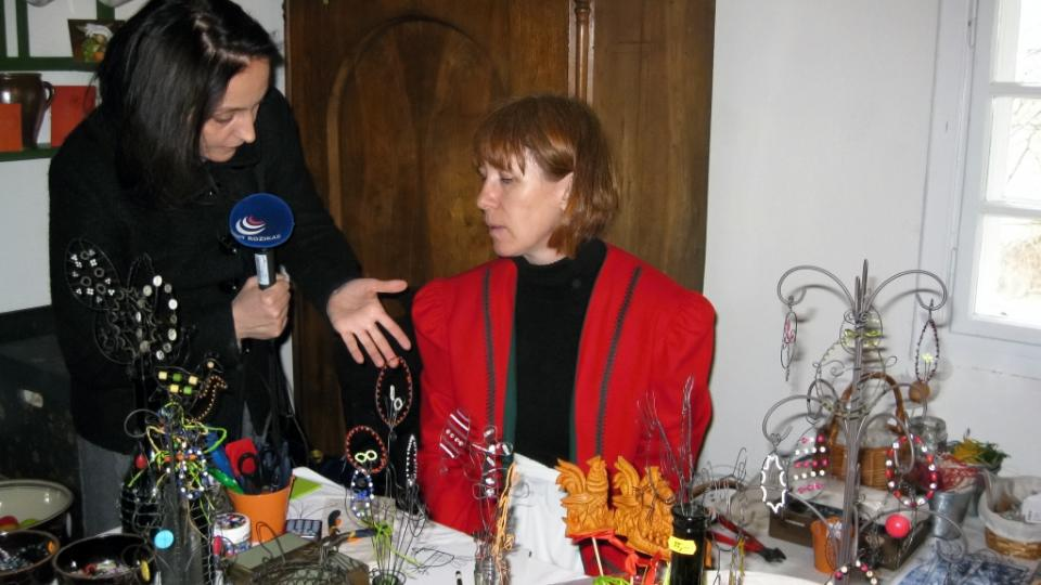 Markéta Vejvodová zpovídá drátenici