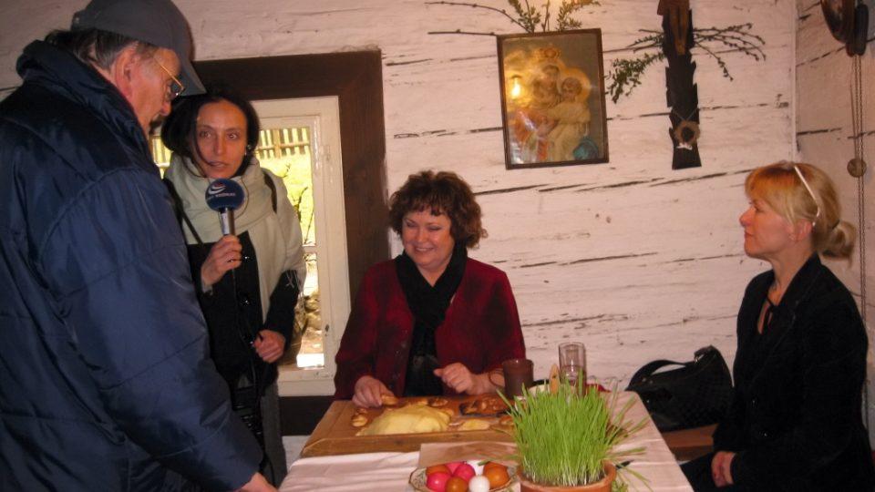 Eduard Hrubeš, Markéta Vejvodová, Naďa Konvalinková a Dana Batulková