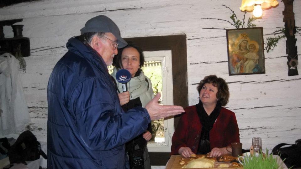 Eduard Hrubeš, Markéta Vejvodová a Naďa Konvalinková