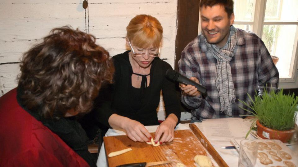 Naďa Konvalinková, Dana Batulková a Patrik Rozehnal