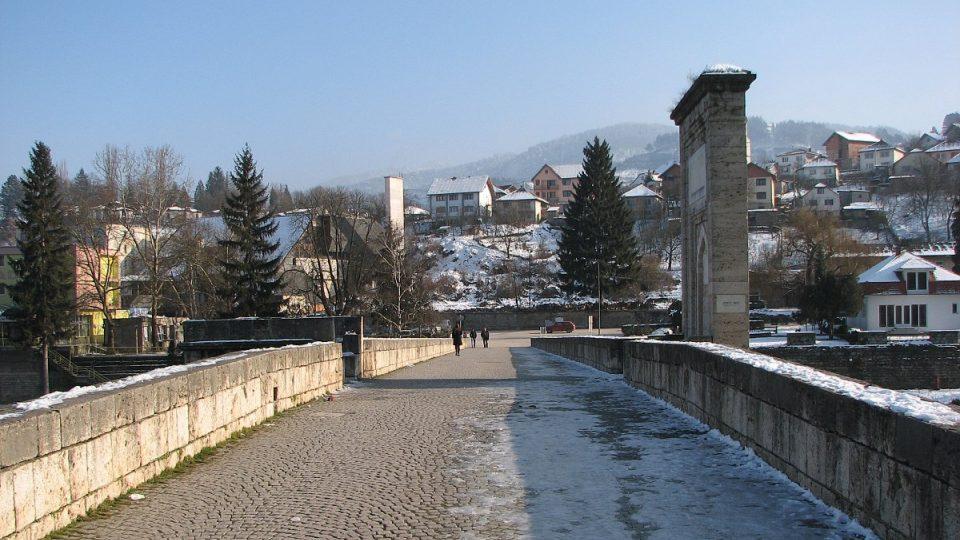 Historický most přes řeku Drinu