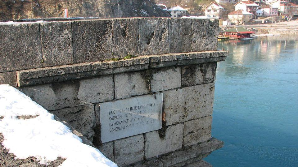 Město na Drině roste doslova jako z vody