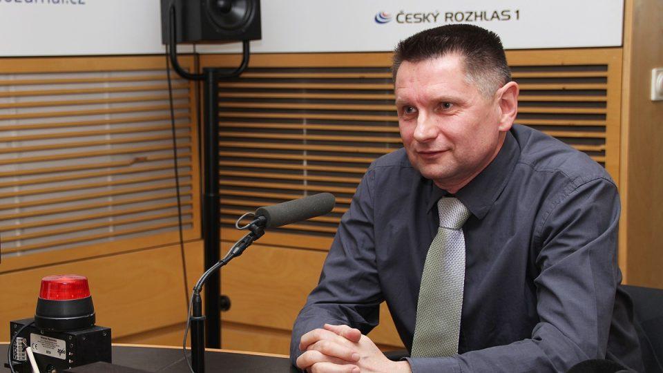 Lékař Rudolf Zvolánek ze Zdravotnické záchranné služby Jihomoravského kraje