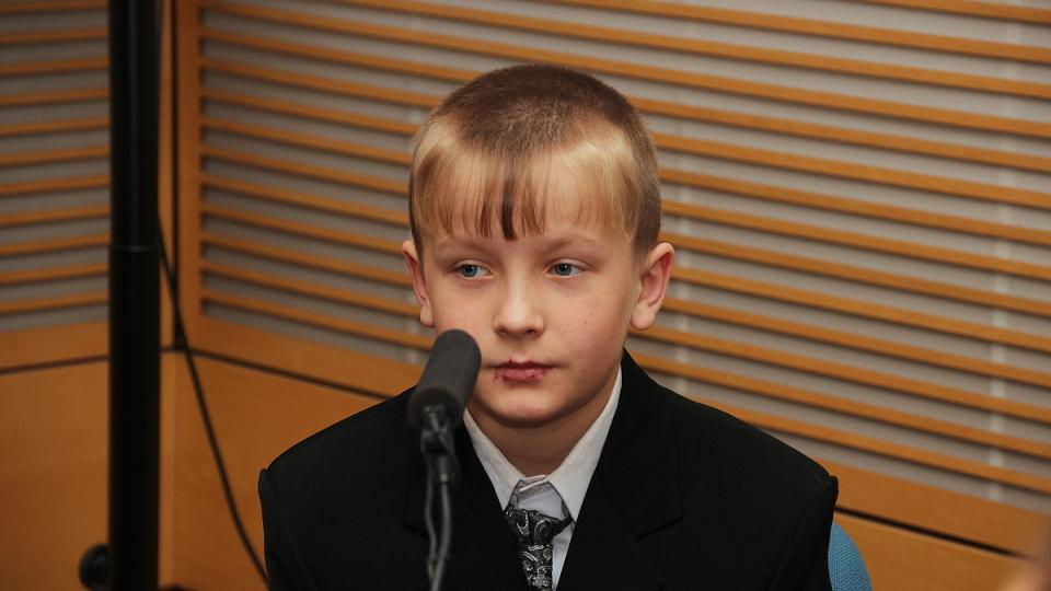 jedenáctiletý Rudolf Duraj bude oceněn Zlatým záchranářským křížem