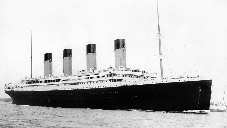 Titanik se potopil přesně před 100 lety
