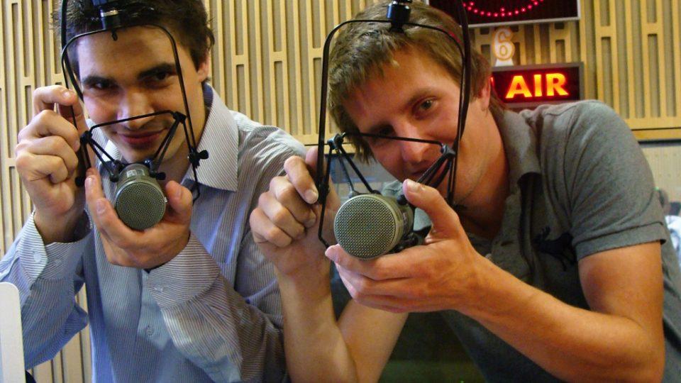 Daniel Stach a fotograf Michal Červený