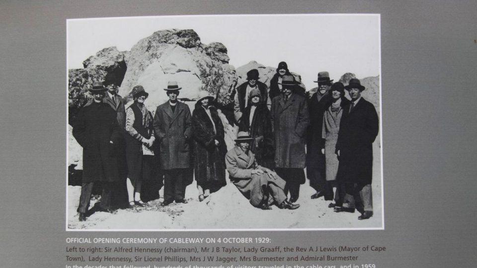 Lanovka na vrchol Stolové hory jezdí už od roku 1929