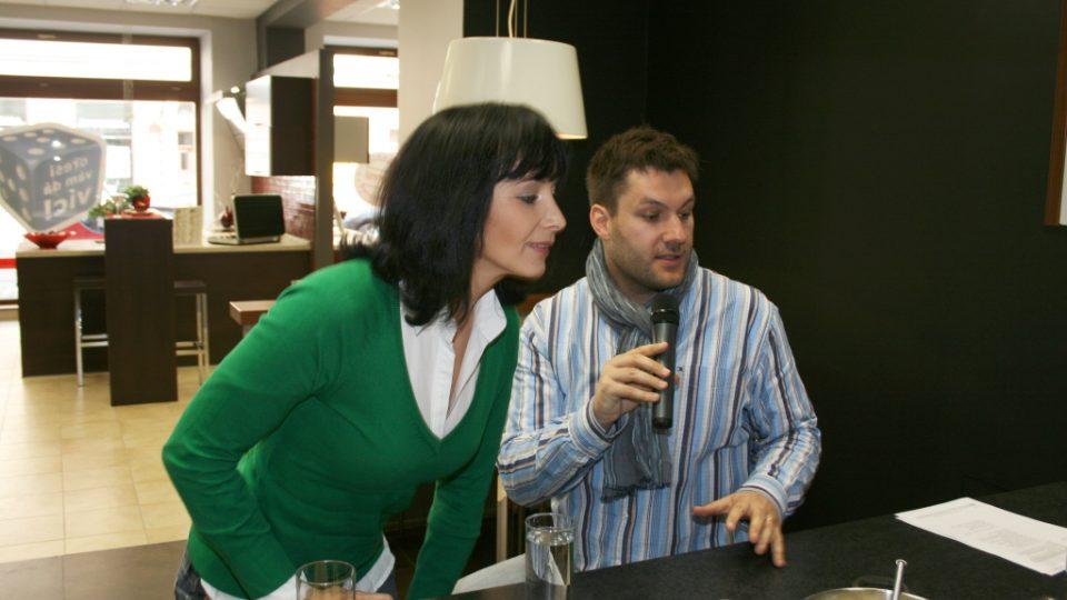 Daniela Šinkorová a Patrik Rozehnal