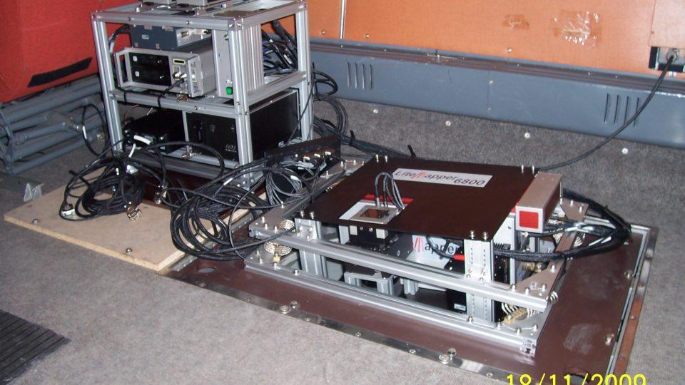 Letecký laserový skener RIEGL LMS – Q680