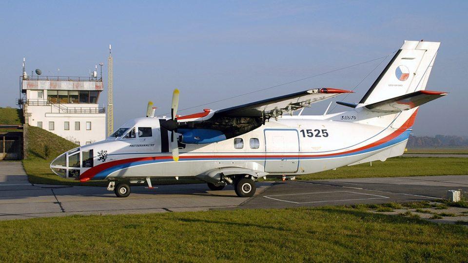 Skenovací letadlo typu L 410 FG