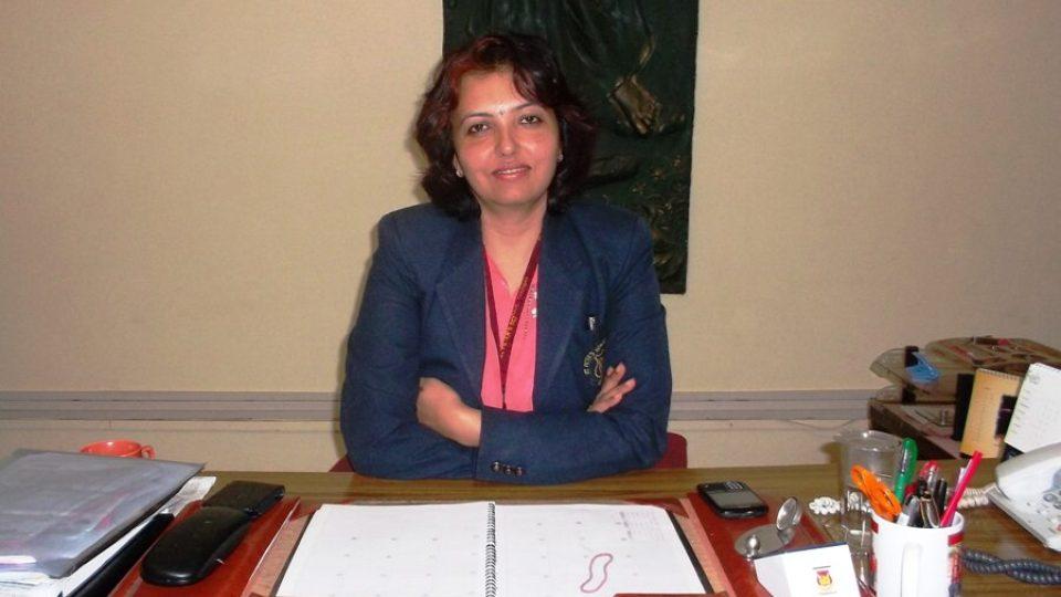 Sangita Jamesová, ředitelka školy v Panchgani