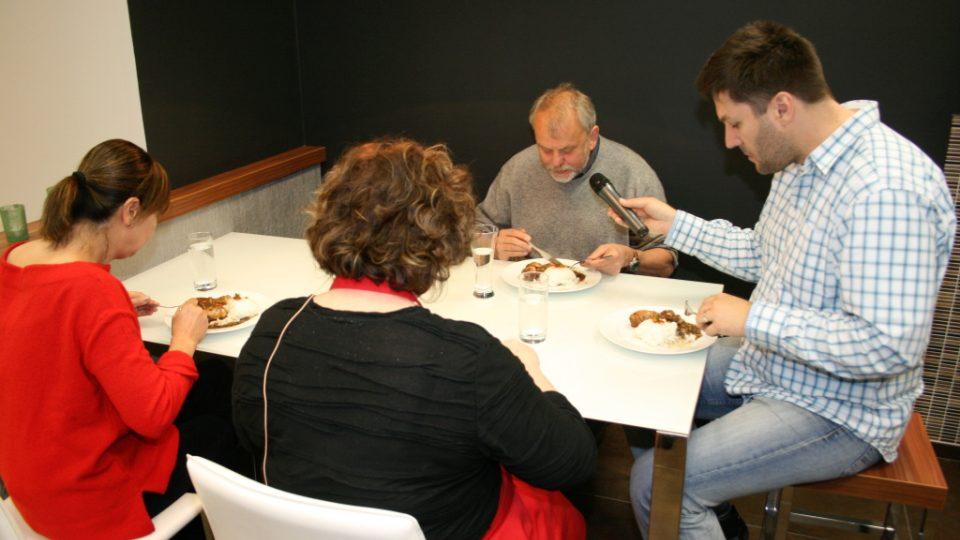 Lenka Polesná, Naďa Konvalinková, Viktor Polesný a Patrik Rozehnal