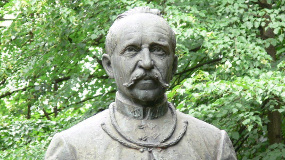František Kmoch - busta