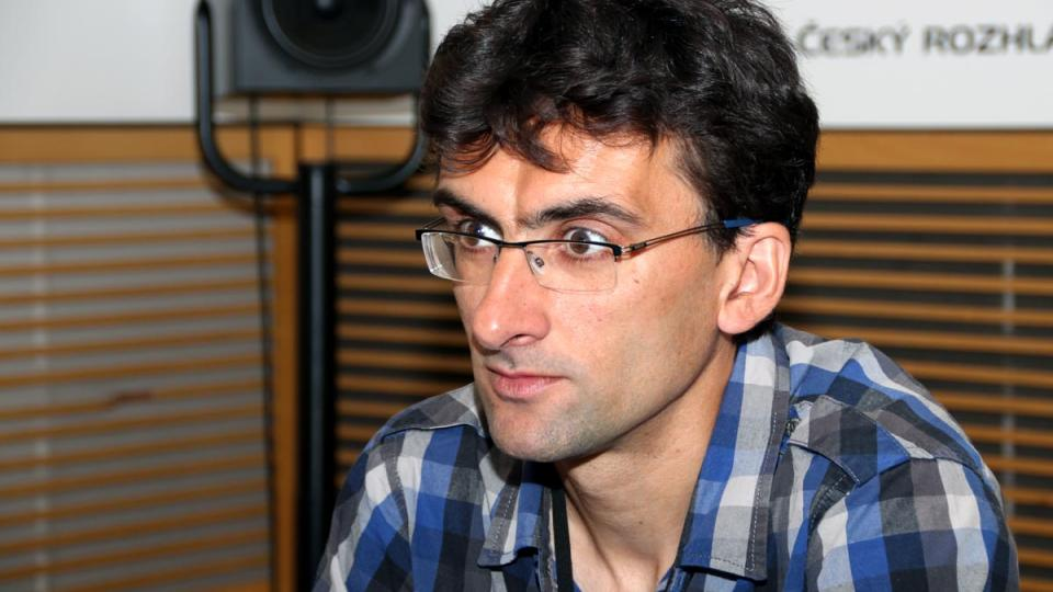 Národní cyklokoordinátor Jaroslav Martinek byl hostem Radiožurnálu