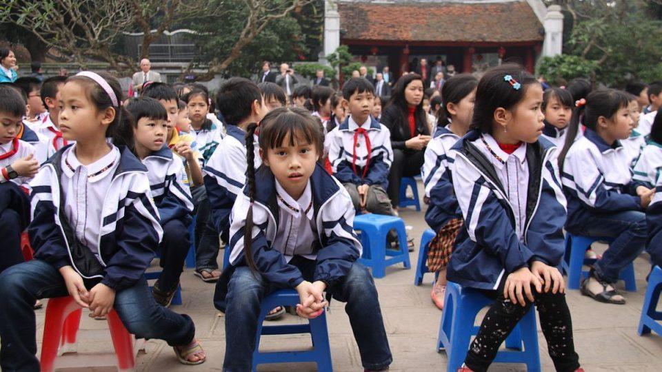 Vietnamští žáci