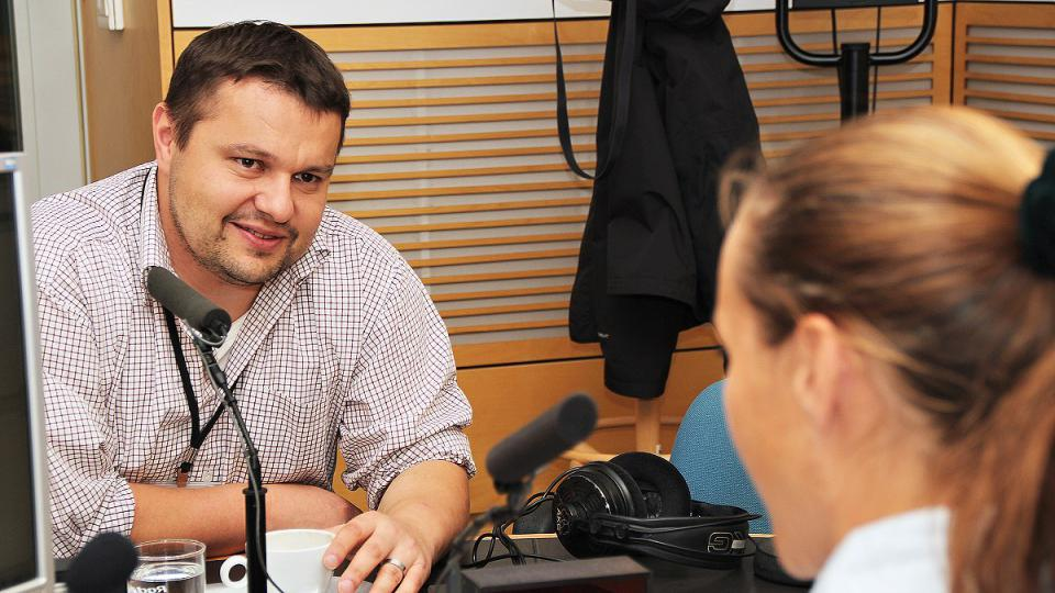 Pavel Rataj s Lucií Výbornou