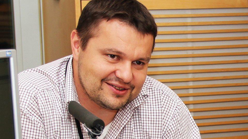 Pavel Rataj hostem Radiožurnálu