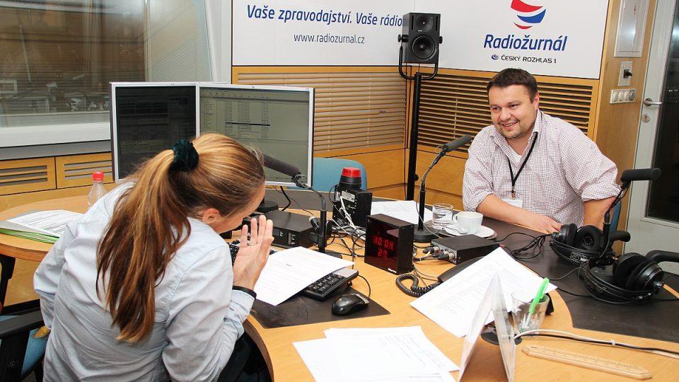 Pavel Rataj a Lucie Výborná
