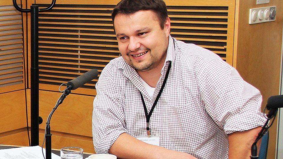 Pavel Rataj ve studiu