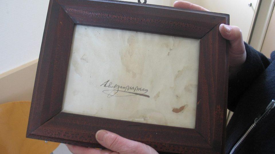 Vlastnoruční podpis Abela Tasmana patří mezi cenné exponáty muzea