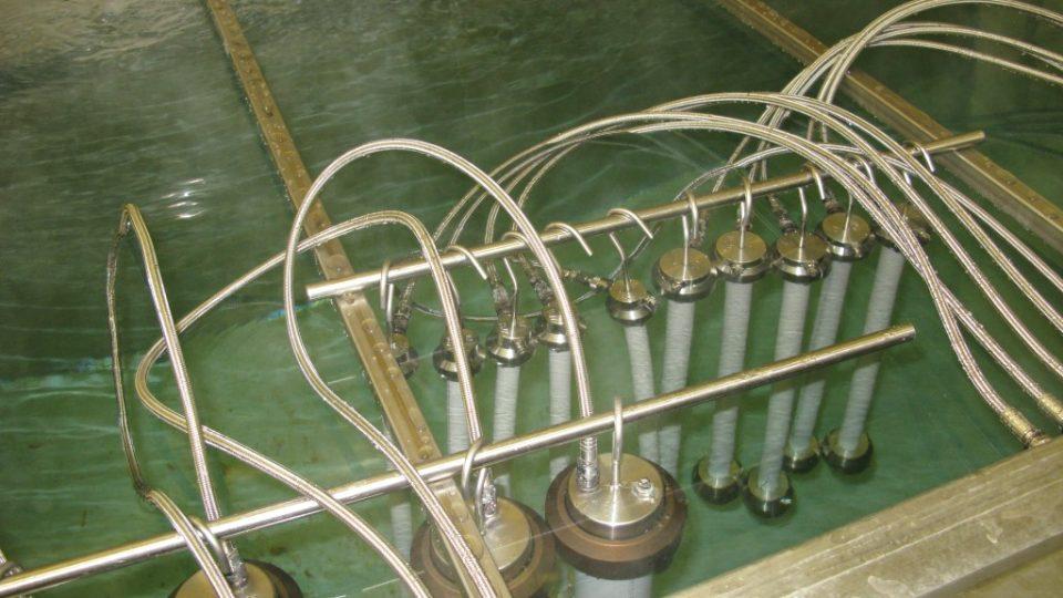 Trubky v tlakové stanici