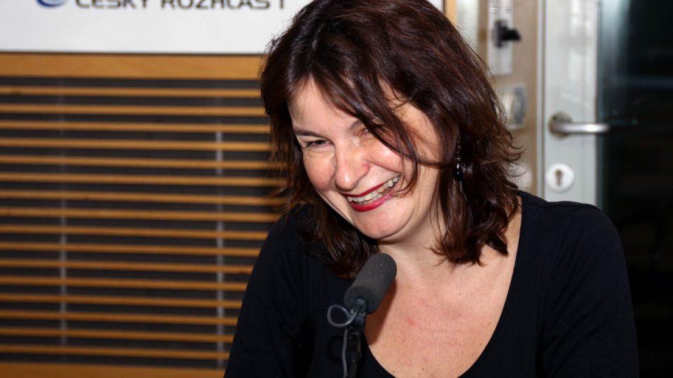 Radka Denemarková byla hostem Radiožurnálu