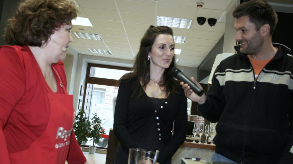 Naďa Konvalinková, Radka Fišarová a Patrik Rozehnal