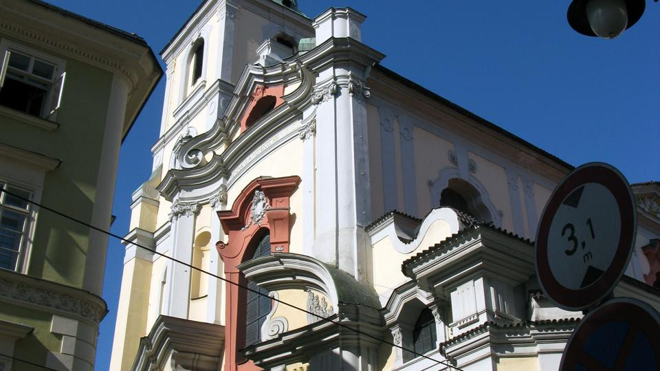 Kostel sv. Tomáše v Josefské ulici v Praze