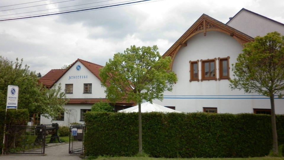 Modrotisková dílna v Olešnici