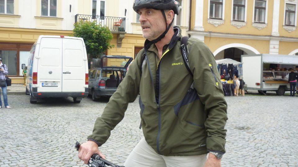 Účastník cyklovýletu