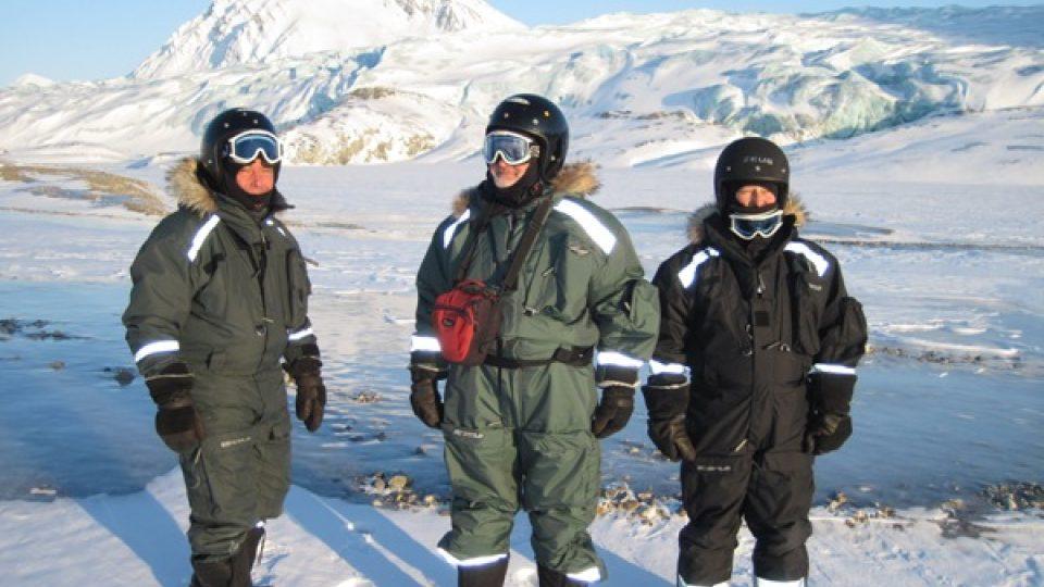 Expedice Svalbard Jihočeské univerzity