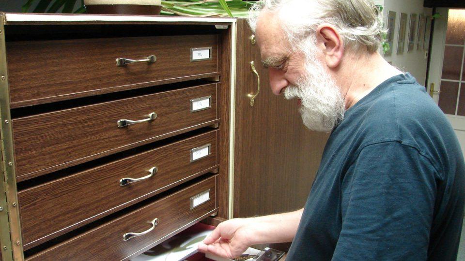 Tomáš Pavlík se svou sbírkou