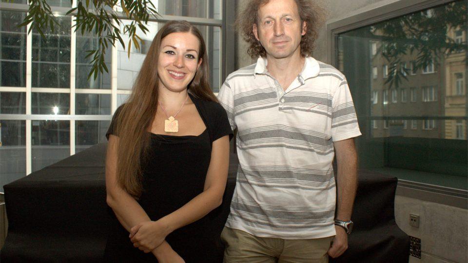 Eva Kvasničková a Martin Vopěnka