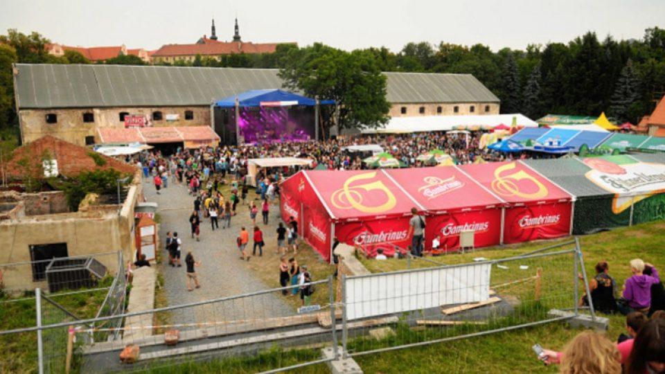 Olomoucká Korunní pevnůstka často hostí různé kulturní akce. Třeba i pivní festival
